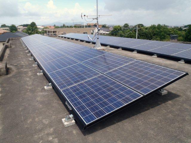 出水市 ソーラーパネル設置工事