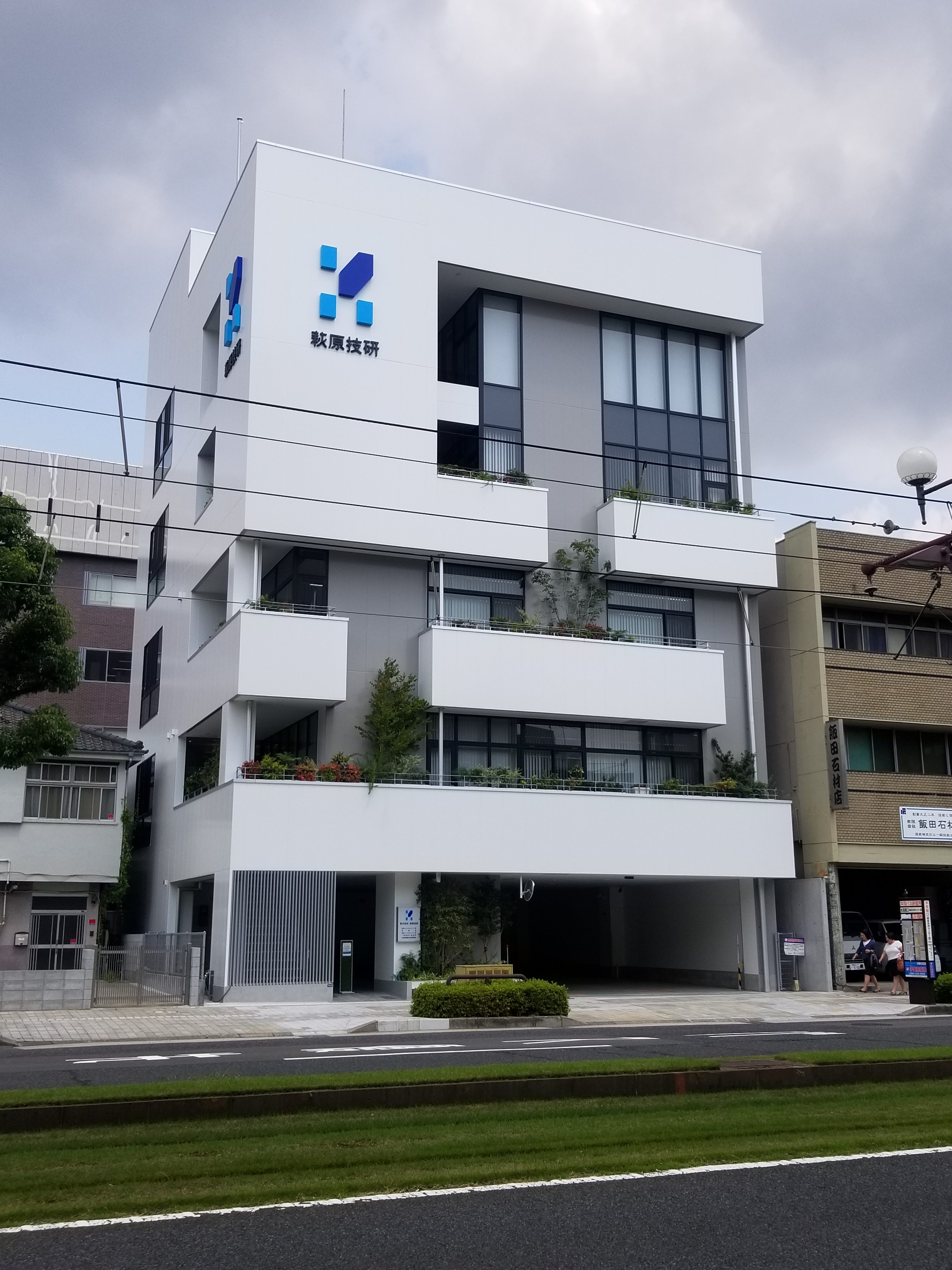 (株)萩原技研様 新社屋新築工事 01